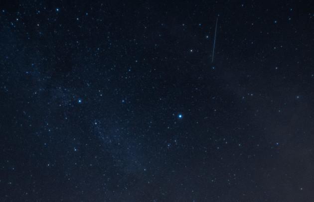 Starry sky over Brandenburg