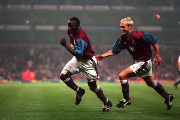 6224f770d Soccer - UEFA Cup Second Round Second Leg - Aston Villa v Athletic Bilbao Dwight  Yorke ...