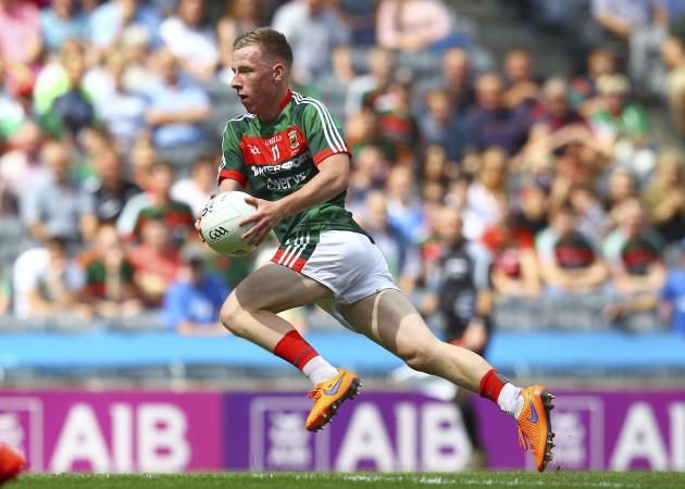 Ryan O'Donoghue in action