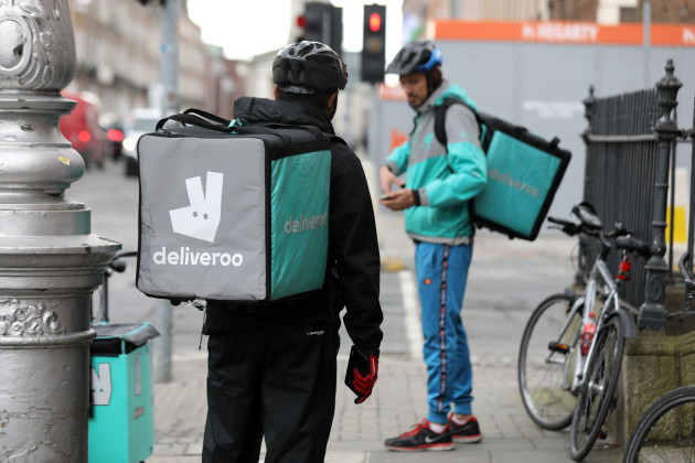 9/4/2018 Deliveroo Couriers