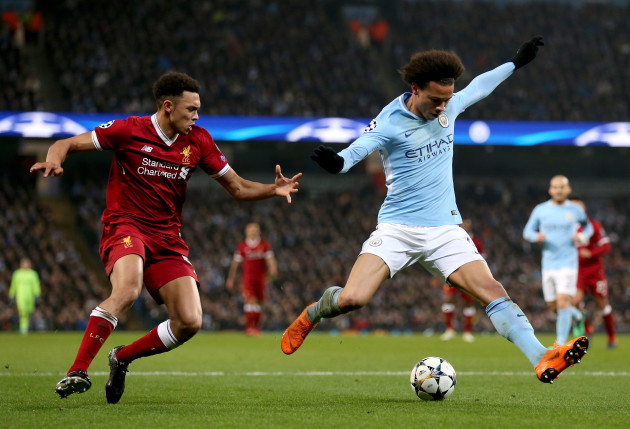 Manchester City v Liverpool - UEFA Champions League - Quarter Final - Second Leg - Etihad Stadium