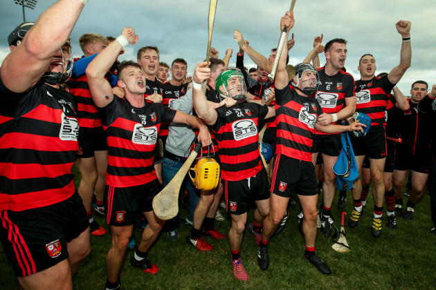 Ballygunner celebrate after the game