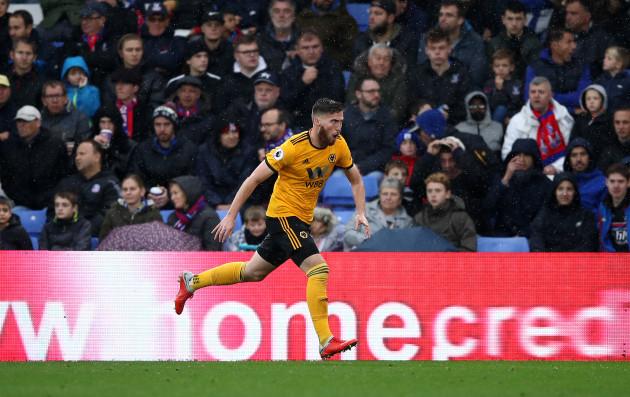 Crystal Palace v Wolverhampton Wanderers - Premier League - Selhurst Park