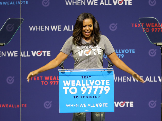 FL: 2018 When We All Vote Rally With Michelle Obama - Miami, Florida
