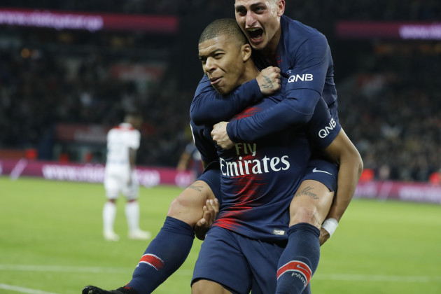 Ligue 1 - Paris Saint-Germain v Olympique Lyonnais