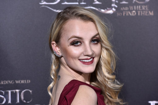 louth actress evanna lynch credits harry potter for helping her