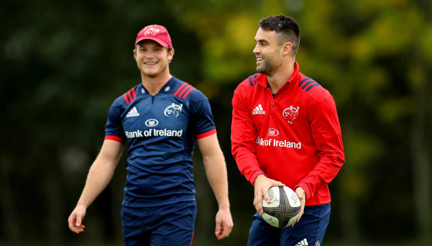 Tyler Bleyendaal and Conor Murray