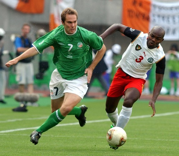 Ireland v Cameroon - McAteer