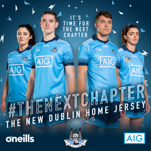 9c06df103d7a7 Dublin GAA unveil new jersey for the 2019 season · The42
