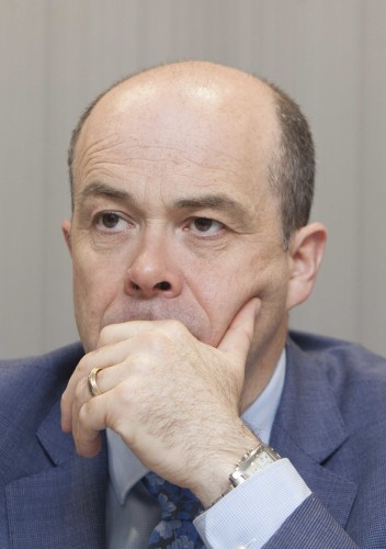 File Photo COMMUNICATIONS MINISTER DENIS Naughten has resigned. End.