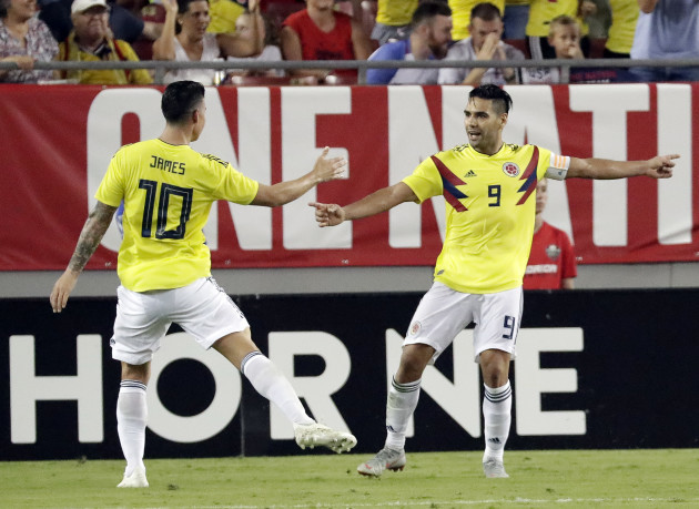 Colombia US Soccer