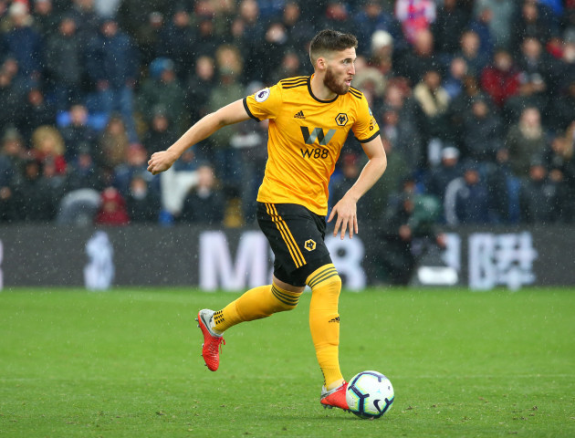 United Kingdom: Crystal Palace v Wolverhampton Wanderers - Premier League