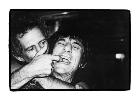 Keith+Ronnie,  Rolling Stones by BP Fallon
