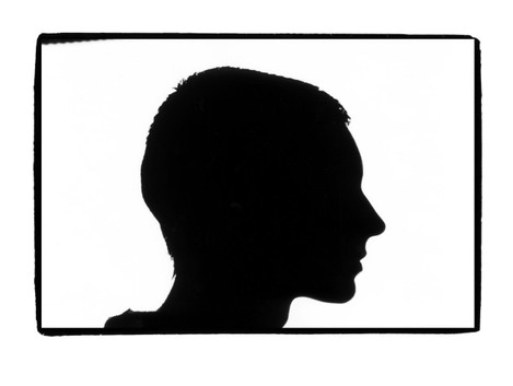 Sinead O'Connor Silouhette by BP Fallon