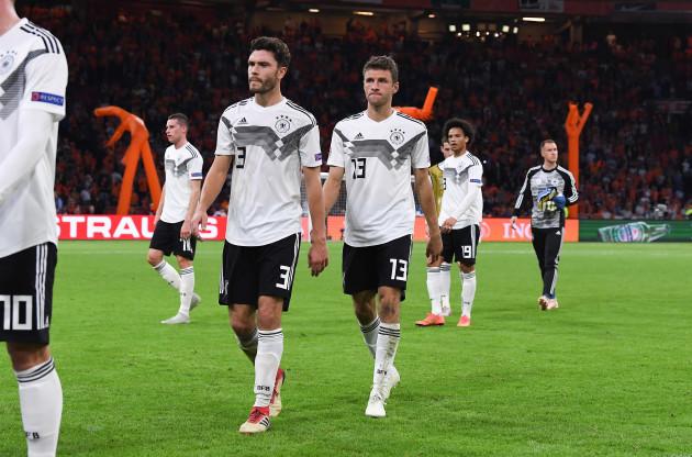 GES / Soccer / Netherlands - Germany, 13.10.2018