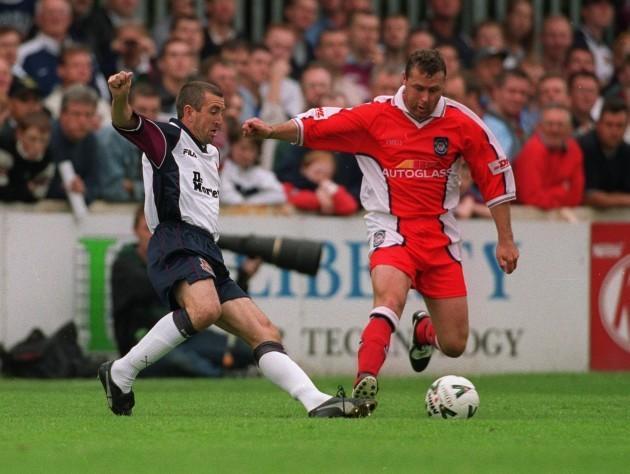 Nigel Winterburn and Paul Byrne 23/7/2000