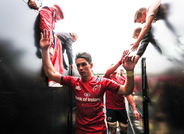 Joey Carbery celebrates after the match