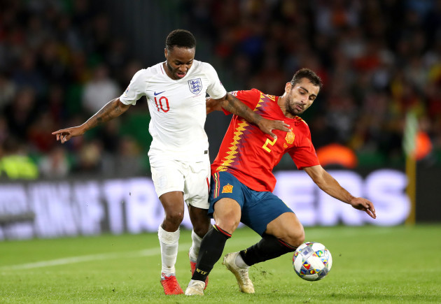 Spain v England - UEFA Nations League - Group A4 - Benito Villamarin Stadium