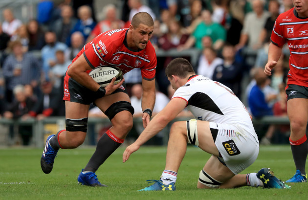 Ulster v Gloucester Rugby - Pre-Season Friendly - Kingspan Stadium