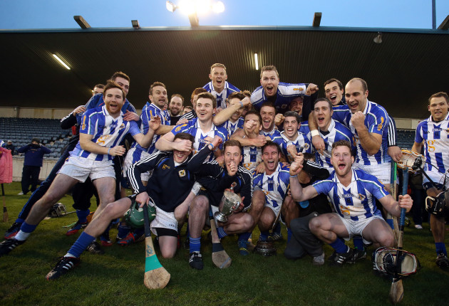 Ballyboden St Endas team celebrates winning