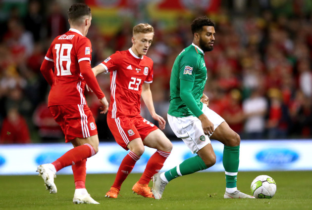 Harry Wilson and Matthew Smith with Cyrus Christie