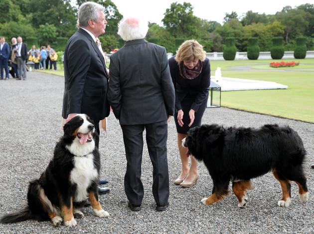 German President Gauck on visit to Ireland