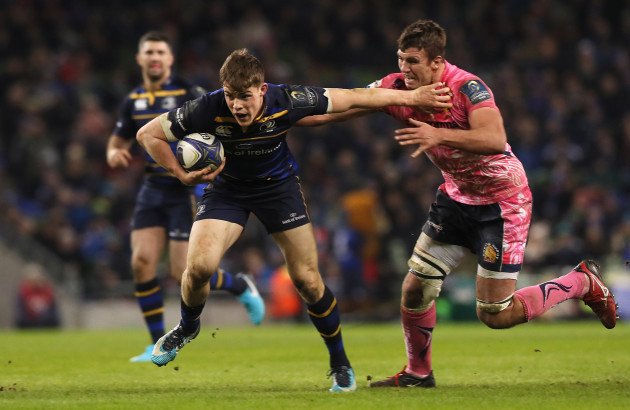 Leinster v Exeter Chiefs - European Rugby Champions Cup - Pool Three - Aviva Stadium