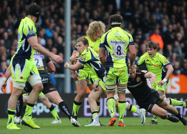 Exeter Chiefs v Sale Sharks - Aviva Premiership - Sandy Park