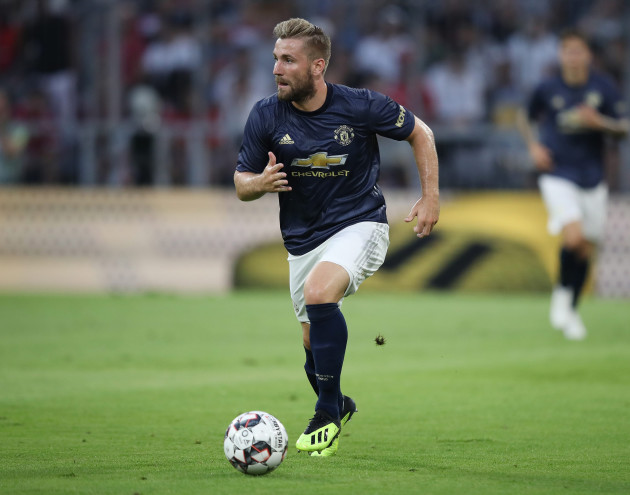 firo Football, Football, 05.08.2018 Test match season 2018/2019 FC Bayern Munich - Manchester United