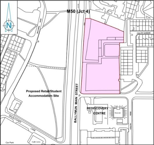 proposed site ballymun