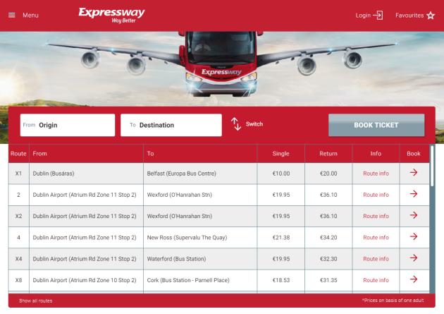 expresswaywebsite