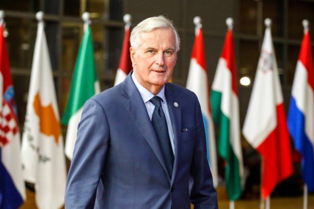 Belgium: Brexit talks in European Council in Brussels
