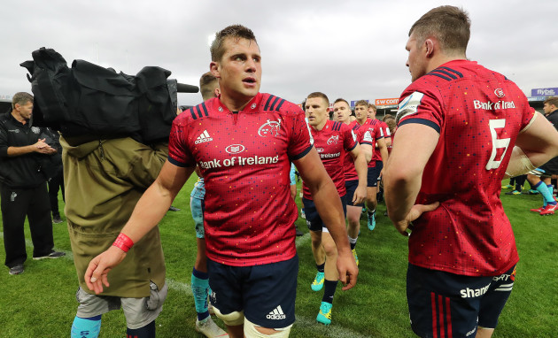 Munster's CJ Stander and Peter O'Mahony
