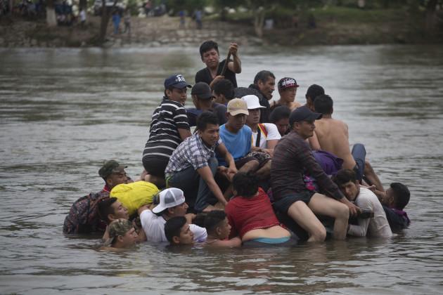 Central America Migrant Caravan