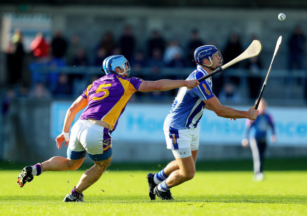 Conal Keaney with Ross O'Carroll