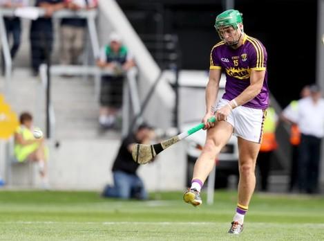 Conor McDonald scores a goal