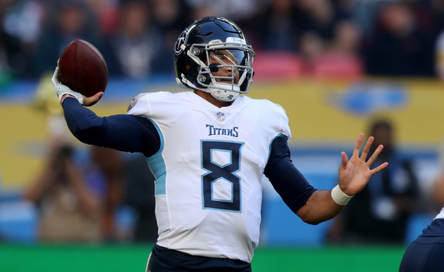 Tennessee Titans v Los Angeles Chargers - NFL International Series - Wembley Stadium