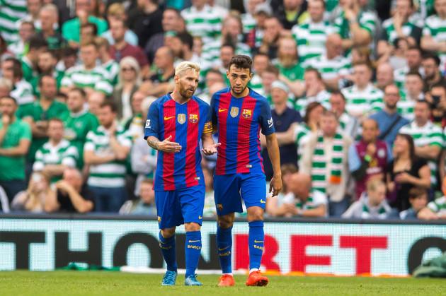 Celtic v Barcelona - 2016 International Champions Cup - Aviva Stadium