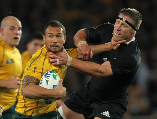 Rugby Union - Rugby World Cup 2011 - Semi Final - Australia v New Zealand - Eden Park
