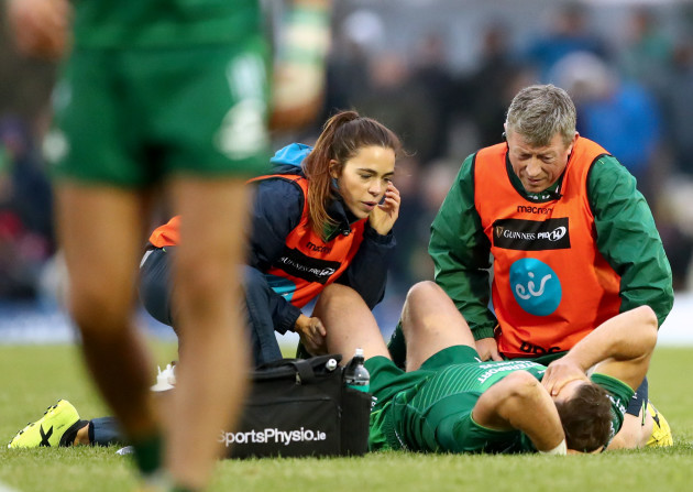 Craig Ronaldson treated by physio Orla Armstrong and Dr John O'Donnell