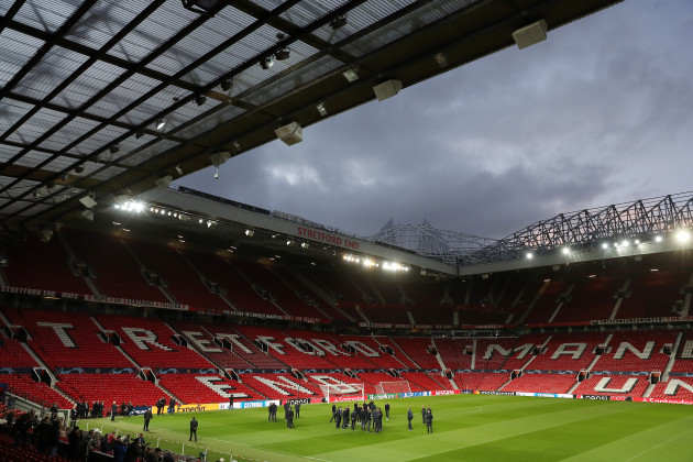 Juventus Press Conference and Pitch Walkaround - Old Trafford