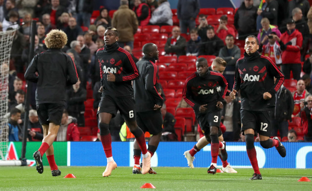 Manchester United v Valencia - UEFA Champions League - Group H - Old Trafford