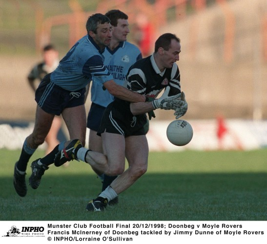 Francis McInerney and Jimmy Dunne 20/12/1998