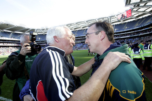 Managers Billy Morgan and Colm Coyle