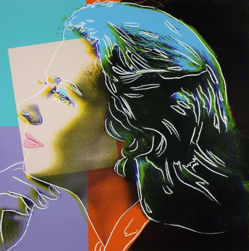 Andy Warhol Ingrid Bergman  Herself