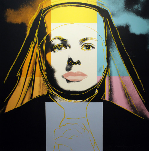 Ingrid Bergman The Nun