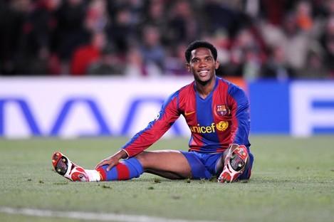 Soccer - UEFA Champions League - First Knock Out Round - Second Leg - Barcelona v Celtic - Camp Nou