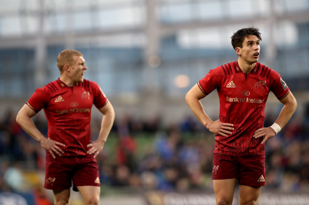 Joey Carbery and Keith Earls