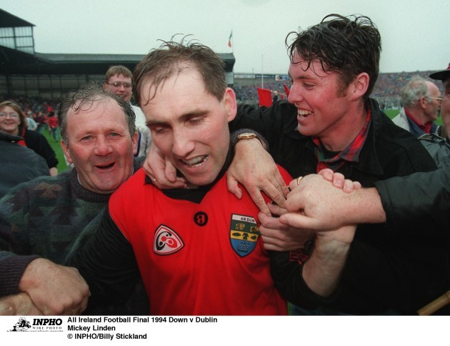 Mickey Linden 1994 Down v Dublin