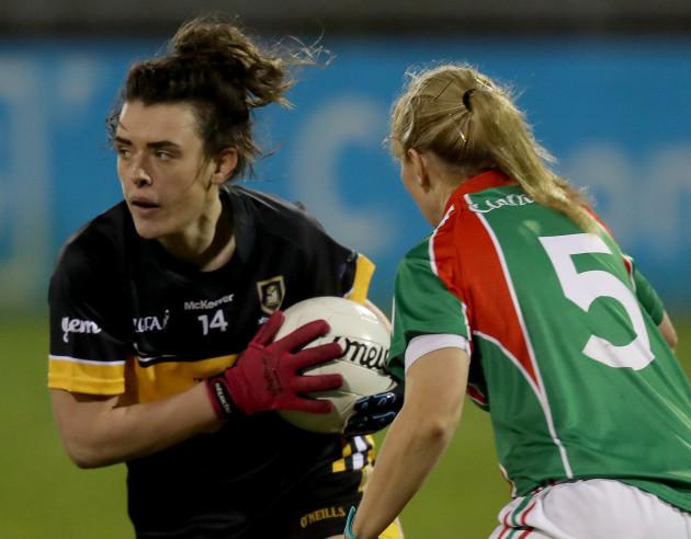 Marie Corbett with Doireann O'Sullivan